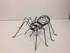 9 Taranchula Wire Sculpture by JeffRask1 on Etsy, $45.00