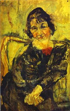 Artist: Chaim Soutine  Completion Date: c.1919  Style: Expressionism  Genre: landscape  Technique: oil  Material: canvas  Gallery: Private Collection  Tags: Young Woman  Share:  Share on Facebook  Share on Tumblr  Share on Twitter        Image dimensions 500x404px, View All Sizes  This artwork may be protected by copyright. It is posted on the site in accordance with fair use principles. Why?  File Source  http://
