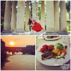 movement + mangia yoga retreat, florence, italy