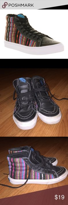 Vans Sk8-Hi Slim Worn a few times! I can add more photos if needed. Women US size 5 / Men US 3.5 Vans Shoes Sneakers