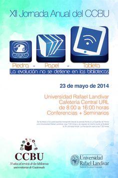 Promocional XII Jornada anual CCBU 2014