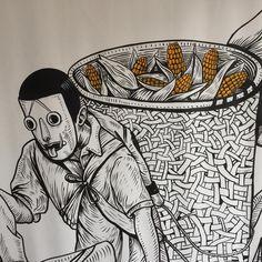 Saner Edgar - Hombres de maíz, mexicanos trabajadores