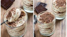 Nadýchaný smotanový krém s čokoládou