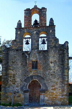 Mission San Francisco de la Espada In San Antonio, Texas! See more: http://www.gypsynester.com/sat.htm #travel #texas #photography
