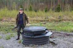 Tämä kaivo oli lukittu sitten Kalevi Puukon edellisen käynnin. Miksi, katso video: http://www.ymparistokonfliktisovittelu.fi/fi/haastattelut/Puulavesi