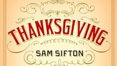 Sam Sifton's 'Thanksgiving: How to Cook it Well' is $1.99 for Kindle or Nook - for a limited time