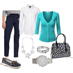 wear it to work by megschneider on Polyvore featuring J.TOMSON, Old Navy, Sperry Top-Sider, Dasein, Larsson & Jennings, Kenneth Cole and Nouv-Elle