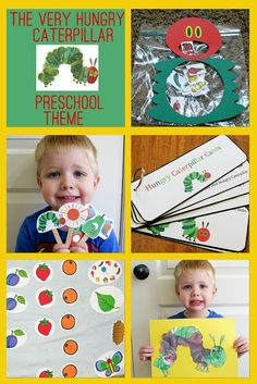 The Very Hungry Caterpillar Preschool Theme