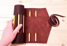 Just made this dark brown leather pencil/ tools roll. I should be adding this and a few more items to the shop soon. 21 if you get it by tomorrow.  #leather #leathergoods #handmade #pencil #art #handcrafted #etsy #accessories #stationery #stationeryaddict