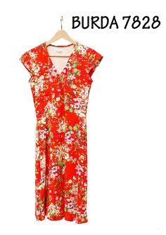 Stap-voor-stap naar een geslaagde Burda 7828: tips tricot jurk naaien