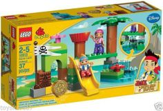 LEGO Duplo Pre-school 10513 Never Land Hideout NEW Factory Sealed