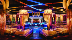 Inspired by the sexy curves of the human body, XS Night Club at Wynn Las Vegas surrounds Encore's pool.