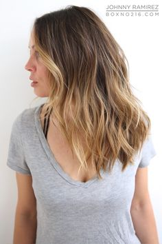 BEAUTIFUL SUN-KISSED HIGHLIGHTS. Hair Color by Johnny Ramirez • IG ...