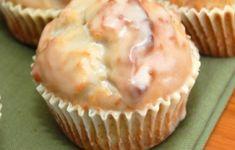 Recette : Muffins au goût de beigne glacé.