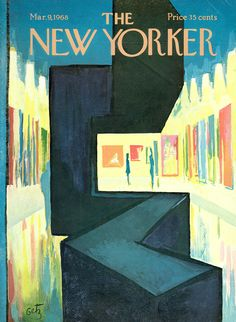 The New Yorker cover: Mar. 9, 1968.