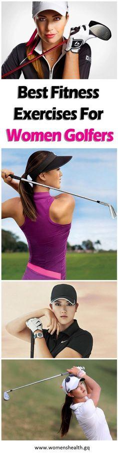 Best Fitness Exercises For Women Golfers
