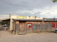 Best BBQ EVER! Clark's, 101 N. Highway 377 at Gene Autry Drive Tioga, Texas