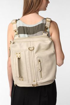 convertible backpack/purse. genuine leather | Handbags, Totes, and ...