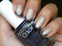 Tuesday's #NailCall: Graphic Details and Half Moon Manicures   Beauty High