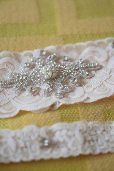 Bridal Garter - Etsy: BridalbyVanessa Vintage garter