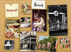Harrods Activates Fans Through #Pinterest #socialmedia #casestudy