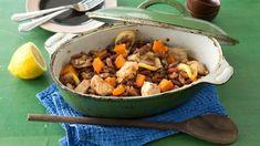 Рагу из фасоли с индейкой и тыквой, пошаговый рецепт с фото