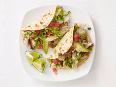 Fish Tacos With Watermelon Salsa Recipe : Food Network Kitchen : Food Network