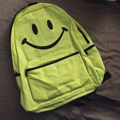 NWT Smiley Face Backpack never used before! Perfect condition! Hot Topic Bags Backpacks