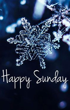 Happy snowflake Sunday(ˆ◡ˆ) Hello Sunday, Hello Weekend, Saturday Sunday, Sunday Funday, Happy Weekend, Happy Sunday Morning, Happy Sunday Quotes, Weekend Quotes, December Quotes