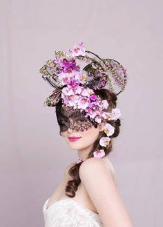 Crazy floral fascinator, what do you guys think!?