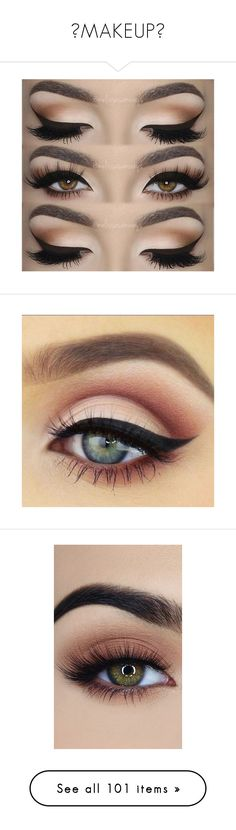 """♥MAKEUP♥"" by selia-101 ❤ liked on Polyvore featuring beauty products, makeup, eye makeup, eyes, liquid eye liner, liquid eyeliner, eyeshadow, beauty, fillers and backgrounds"