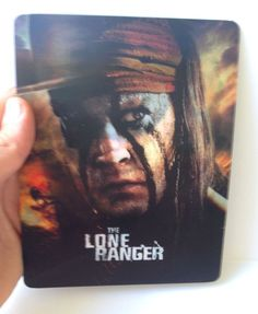 The Lone Ranger Magnet 3D lenticular Flip effect for Steelbook