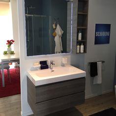 #Bagno #Scavolini modello #Rivo: anta decorativo colore rovere humus. #castellettiarredamenti #bathroom #interiordesign #scavolinibathrooms #bagno #arredamento