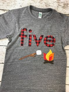 Cute t-shirt for B's 3rd birthday since you can get it personalized!
