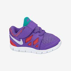 Nike Free 5.0 (2c-10c) Toddler Girls' Shoe. Nike Store