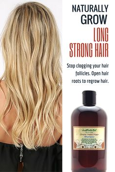 Use this shampoo if you are  experiencing hair loss, thinning hair, alopecia or see patchy bald spots in certain areas of your scalp. Stop clogging your hair follicles and start open your hair roots to grow new healthy thicker hair.