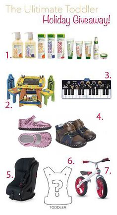 Mommycon and BabyList ultimate toddler products, including our My First Arts & Crafts Table & electronic keyboard!