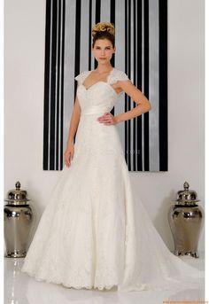 Herz-neck A-linie Schlicht  Designer Preiswerte Brautkleider