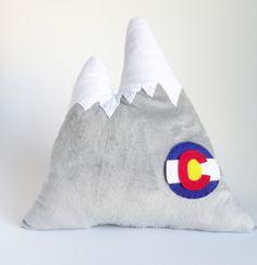 Colorado Mountain Pillow