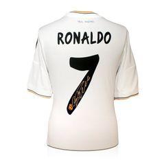 Cristiano Ronaldo Signed Real Madrid Soccer Jersey exclusivememorabilia.com http://www.amazon.com/dp/B009C3PHOU/ref=cm_sw_r_pi_dp_Wmy4tb0Y7GHE6