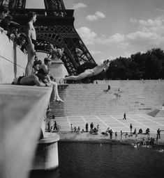 paris photo doisneau plongeon dans la seine