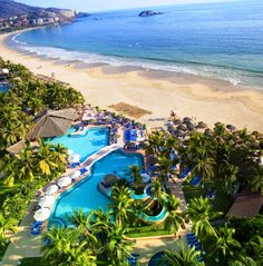 Save on a vacation package to Sunscape Resorts & Spas in Cozumel or Ixtapa, Mexico. Pictured here: Sunscape Dorado Pacifico Ixtapa