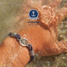 Vivi la tua estate in libertà in pieno stile Marinèrie. Scegli il tuo bracciale su www.marinerie.it #marinèrie #braccialiancora #estate2017 #libertà #braccialetimone #braccialerosadeiventi #mare
