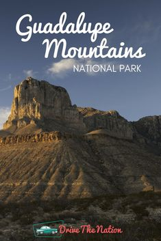 Guadalupe Mountains National Park is famous for its widespread hiking trails and backpacking opportunities amongst some of the most untouched wilderness areas in the nati. Yosemite National Park Map, Plitvice Lakes National Park, Smoky Mountain National Park, Grand Teton National Park, American National Parks, National Parks Map, National Park Posters, Guadalupe Peak, Guadalupe Mountains National Park