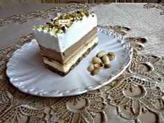 Isteni szelet Hungarian Cake, Hungarian Recipes, Czech Desserts, Phyllo Dough, Cake Bars, Pastry Cake, Eclairs, 20 Min, Vanilla Cake