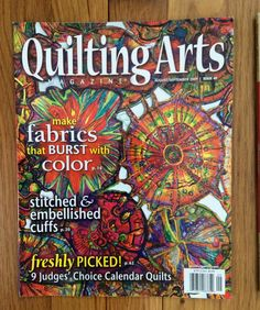 QUILTING ARTS Magazine August/September 2009 by JeanRT on Etsy