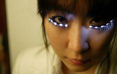 ccad602a91a 10 Strangest Eyelash Extensions - diamond eyelashes, eyelash extensions,  paper eyelashes