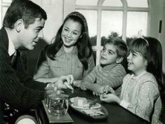George Clooney and his family, 1968