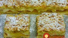 Krehký jablkový koláč z jarmoku – najlepšie strúhané cesto: Jednoduchý a tak fantastický, že sa vyjedá rovno z plechu ešte teplý! Quiche, Muffins, Sandwiches, Food And Drink, Cupcakes, Sweets, Baking, Breakfast, 3