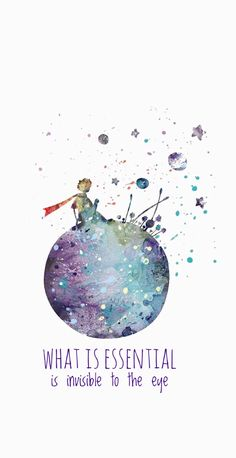 Little Prince, The Little Prince Type 2 Print Wallpaper Quotes, Wallpaper Backgrounds, Iphone Wallpaper, The Little Prince, Little Prince Quotes, Watercolor Print, Cute Wallpapers, Illustrations, Art Prints